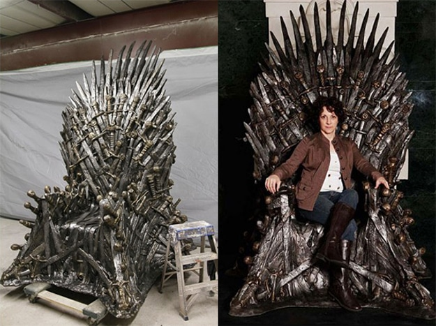 Game Of Thrones: The $30,000 Handmade Iron Throne Chair Replica