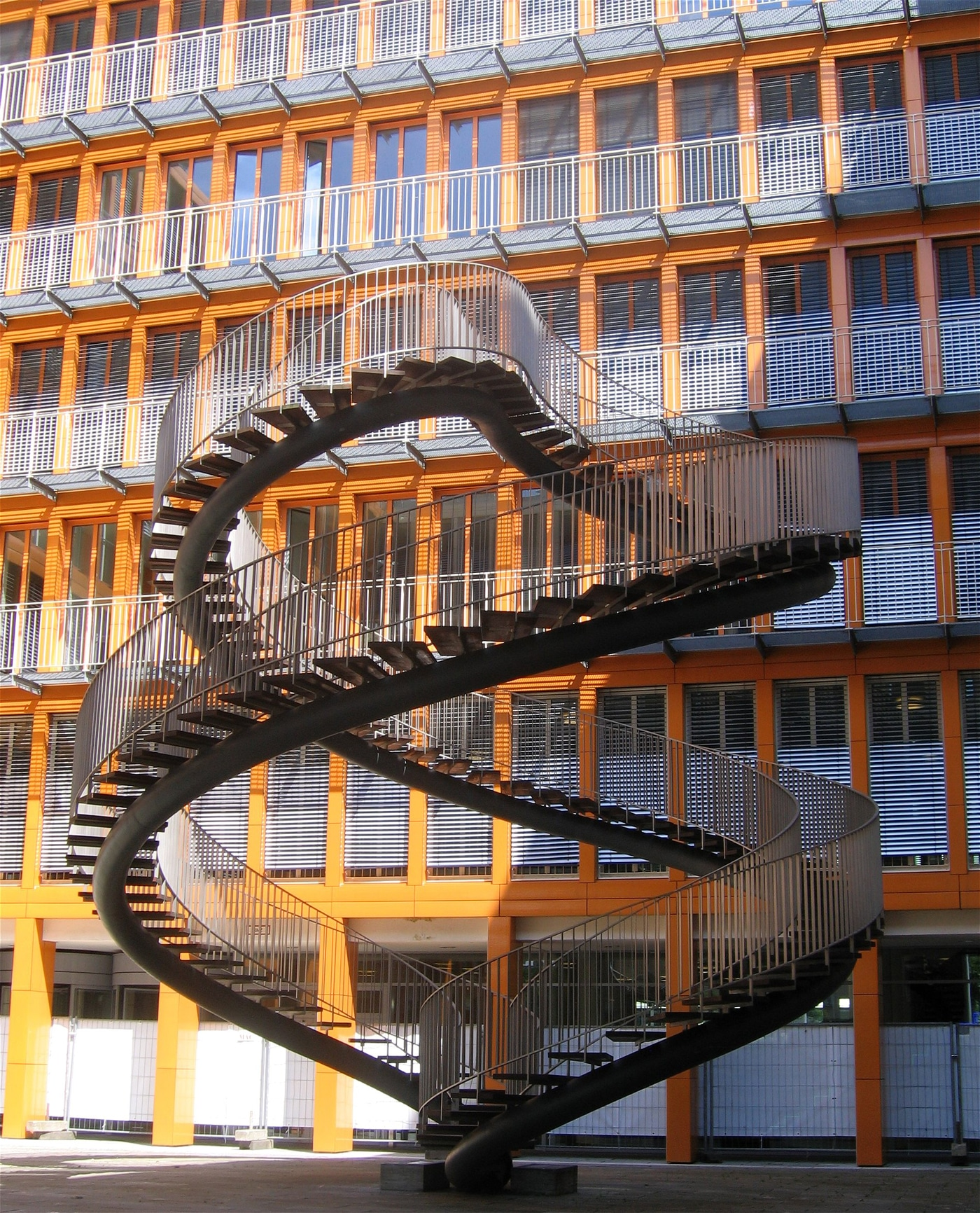 The Infinity Spiral Staircase That Goes Nowhere