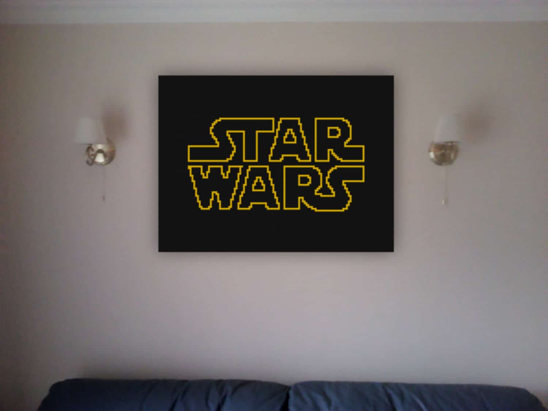 Decorative Star Wars Wall LEGO Mosaics For Sci-Fi Geeks