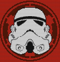 Decorative Star Wars Wall LEGO Mosaics For Sci-Fi Geeks