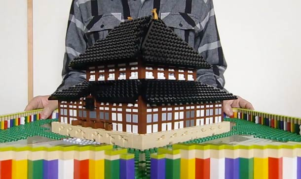 Incredible LEGO Pop-Up Books That Tell A 3D Story