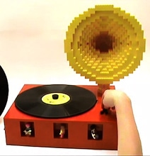 Working LEGO LP Player Is Not Your Usual Record Player