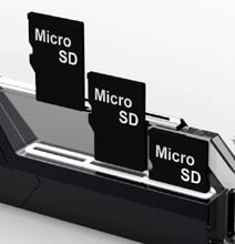 MicroSD Memory Card Collector Significantly Increases Productivity