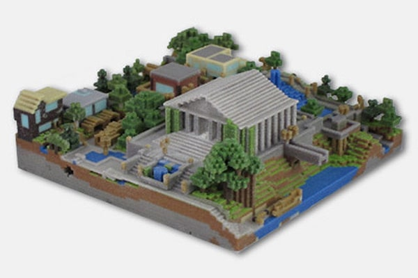 Get Your Own Minecraft World 3D Printed & Make It All Real