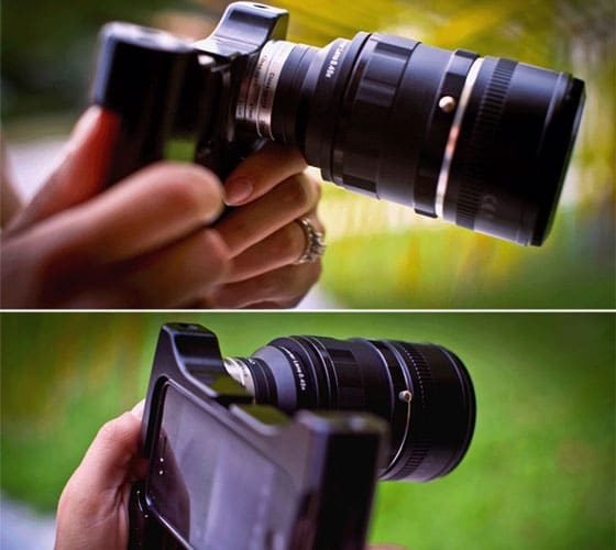 EnCinema Adapter: Professional Movie Lens Adapter For The iPhone