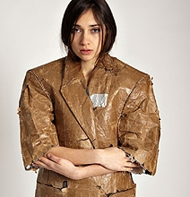 Paper Bag Jacket For The Environmentally Aware