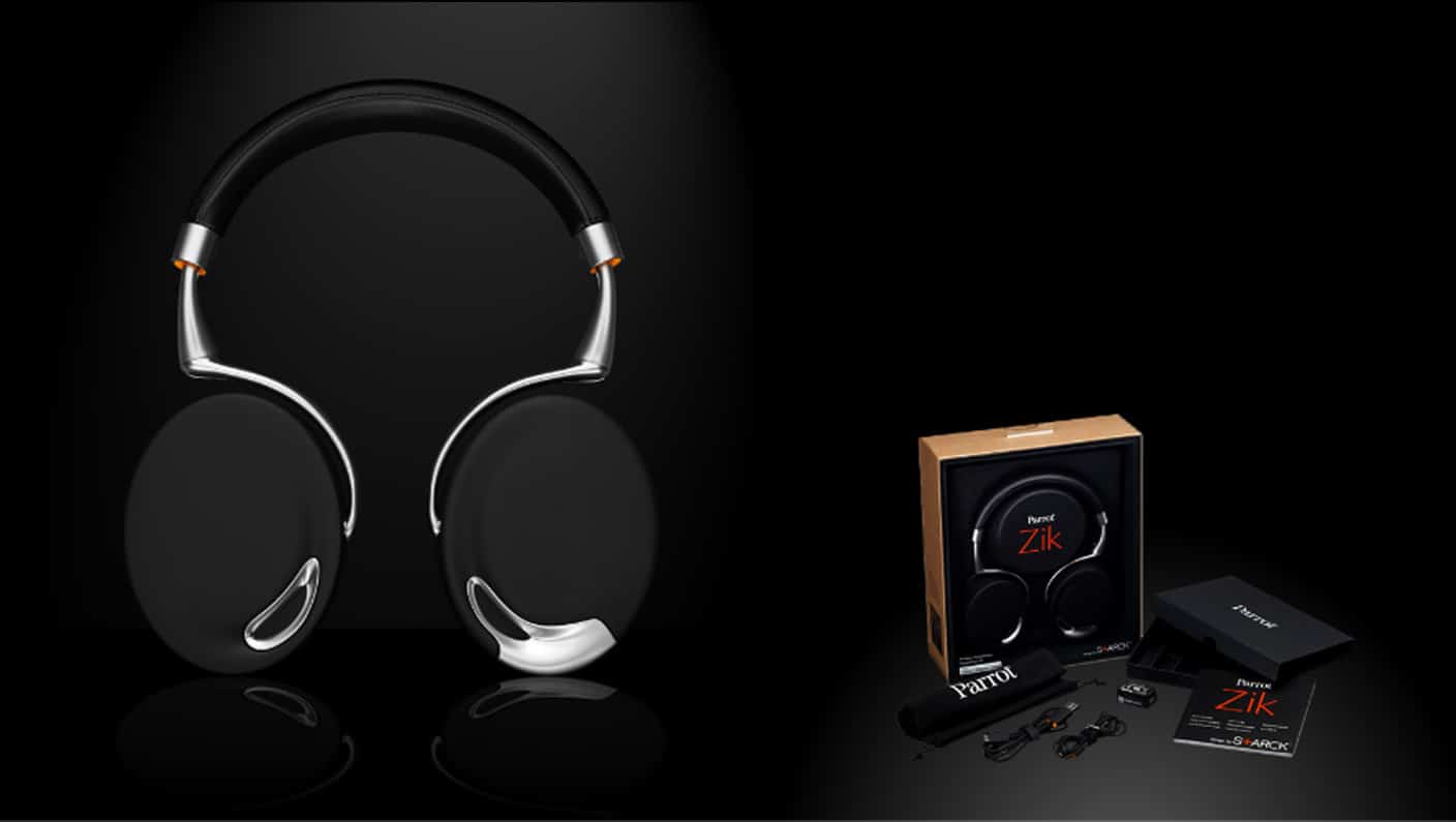Parrot Zik Headphones: Touch-Activated, Bluetooth & Oh So Trendy