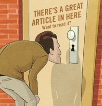 Paying For Content: The Increasing Use Of Paywalls [Infographic]