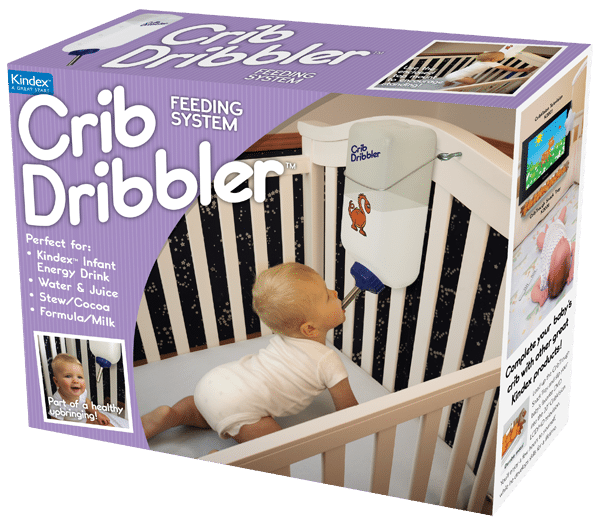 Crib Dribbler: Independent Feeding System For Infants