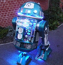 R2-D2 Version 2.0 Has No Shortage Of LED Lights