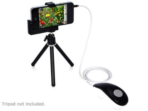 Remote Shutter Release For iPhone, iPad & iPod