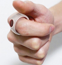 CAMER-ing: Discrete Ring Camera That Fits On Your Finger
