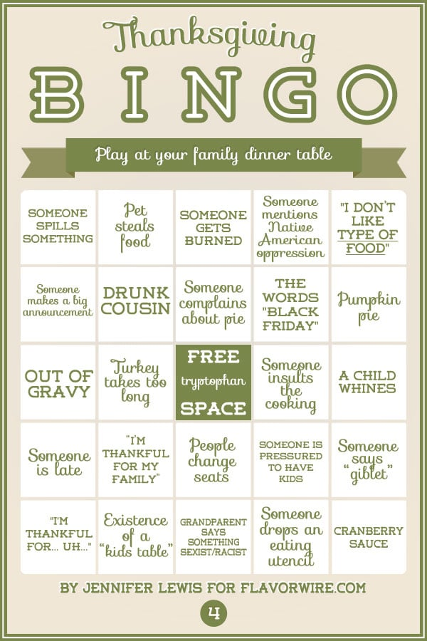Turkey Bingo: A Fun Thanksgiving Game To Print & Play Today