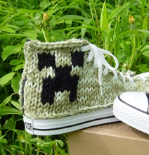 Knitted Converse Sneakers Let Your Inner Geek Come Out To Play