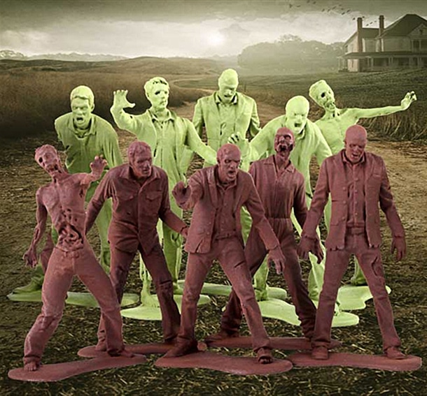 Zombie Army Men Inspired By The Walking Dead