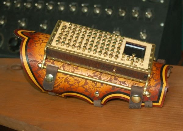 arm-bluetooth-steampunk-keyboard