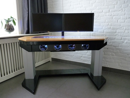 creative plans custom for small desk space computer a ways of