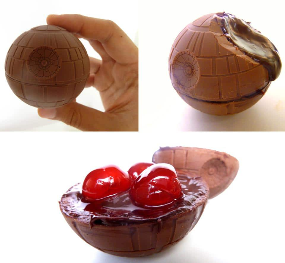 Savor The Force With Death Star Chocolate Covered Cherries