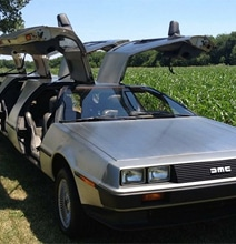 DeLorean Car Turned Into A Luxurious Limousine