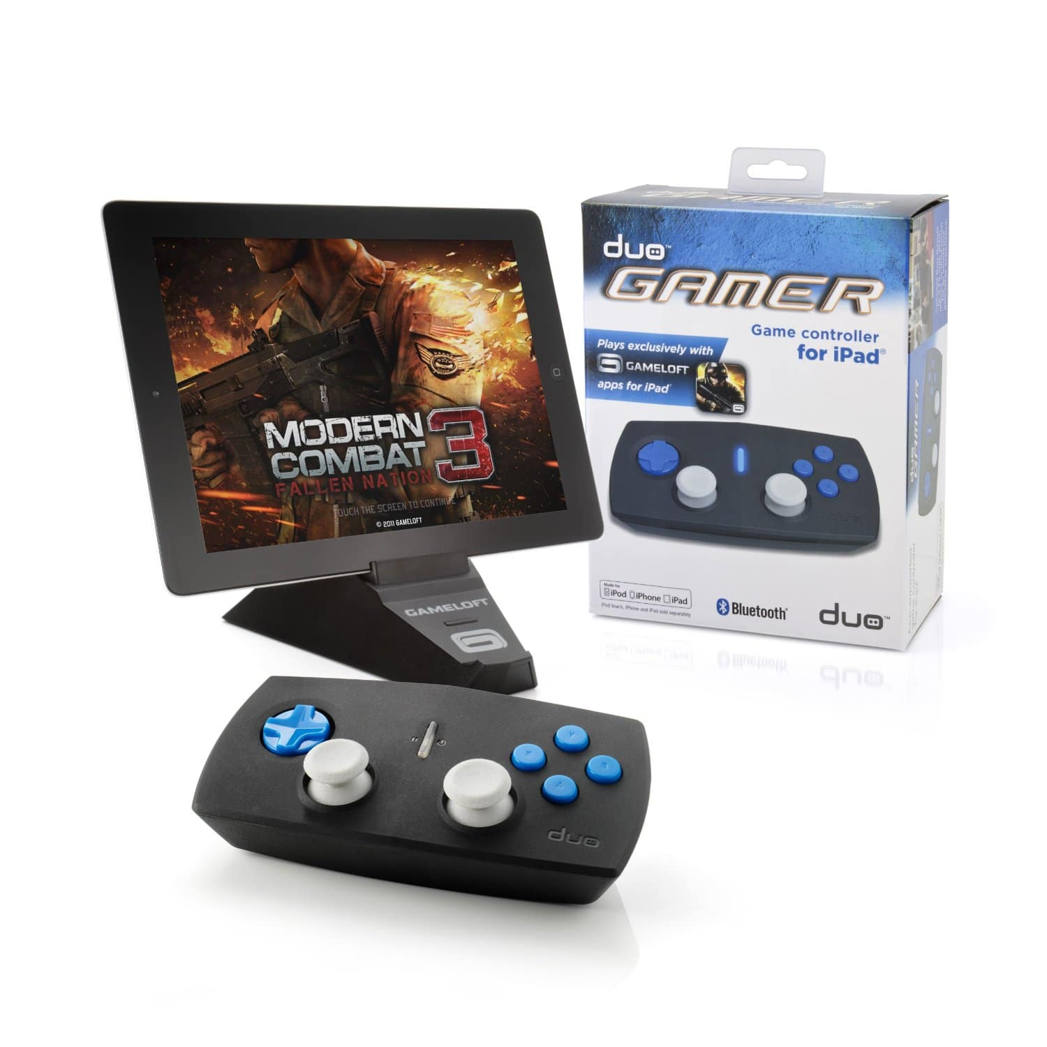 Duo Gamer iPad Accessory Turns Your iPad Into A Console