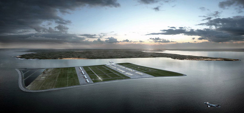 The Floating Eco-Friendly Airport Design Proposed For London