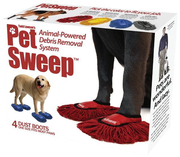 Pet Sweep: Let Your Dog Or Cat Do The Floor Sweeping