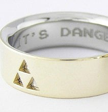 Custom Zelda Wedding Rings: For Geeks Who Wanna Do It Right