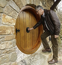 Uber Fan Has Real Hobbit House Designed & Built By Architect