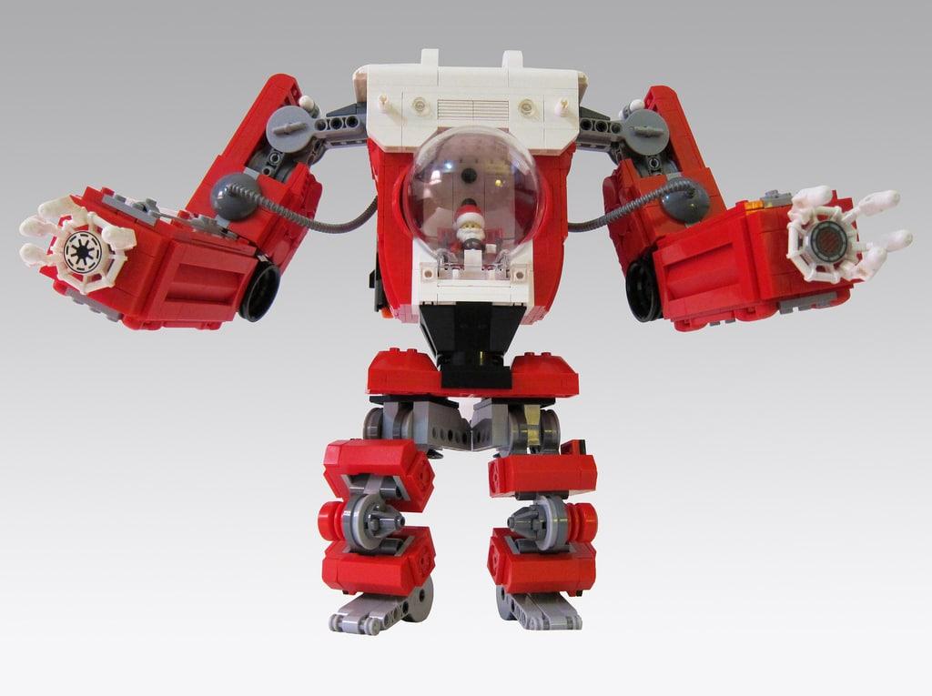 santa-lego-mech-build