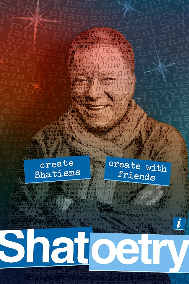Shatoetry: William Shatner iPhone App Celebrates The Spoken Word