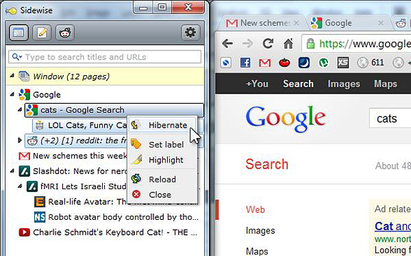 Sidewise Extension Brings A Dockable Vertical Sidebar To Chrome