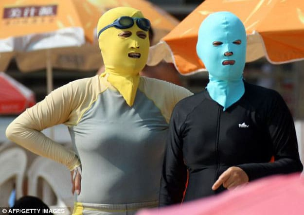 Face-Kini: The Outrageous Face Bikini That Looks Like A Ski Mask