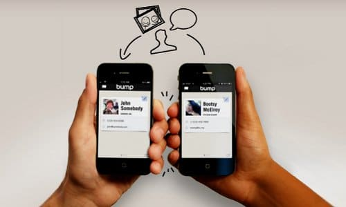 Bump: Instantly Exchange Virtual Business Cards With A Fist Bump