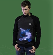 Technology Fashion: The Gaming Platform & Social Media Sweatshirt