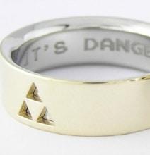 Custom Zelda Wedding Rings: For Geeks Who Wanna Do It Right