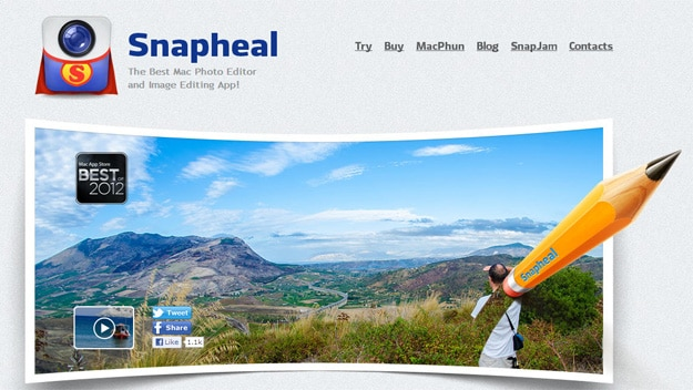 snapheal review - photoshop alternative