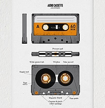 Anatomy Of An Audio Cassette (For All The Youngins)