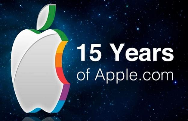 15 Years Of Apple Website History [Slideshow]