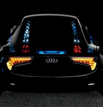 Intelligent OLED Light Surface To Cover Audi's Future Vehicles