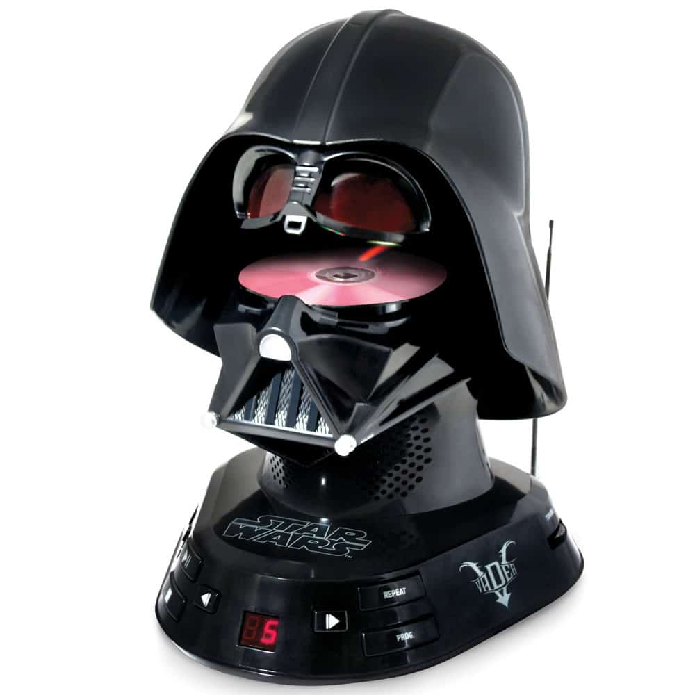 Darth Vader CD Player For Supreme Fans Of The Dark Lord Of The Sith