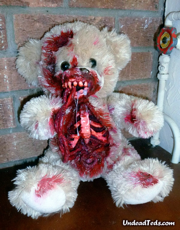Zombiefied Undead Stuffed Bears That Will Keep You Awake At Night