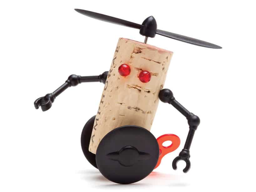 Wine Cork Robots: Best (And Cutest) Way To Recycle & Reuse Old Corks