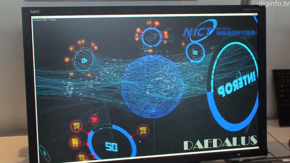 Japan To Introduce Amazing Realtime 3D Cyber-Attack Alert System