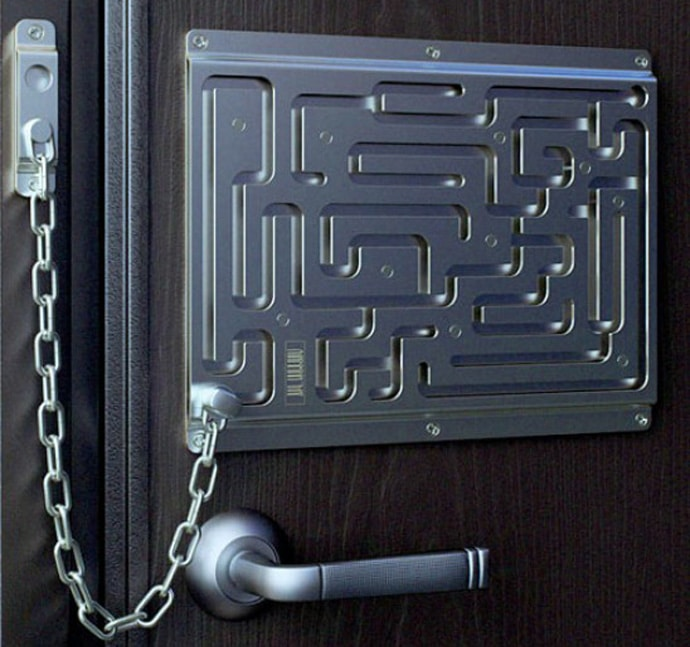Labyrinth Security Lock Makes Less Sense But Is A Whole Lot More Fun