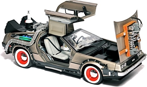 DeLorean Car USB Hard Drive Fits 750GB Of Future Files