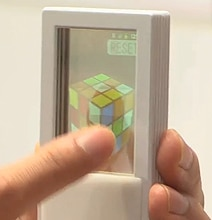 Double-Sided Transparent Smartphone Presented By Docomo