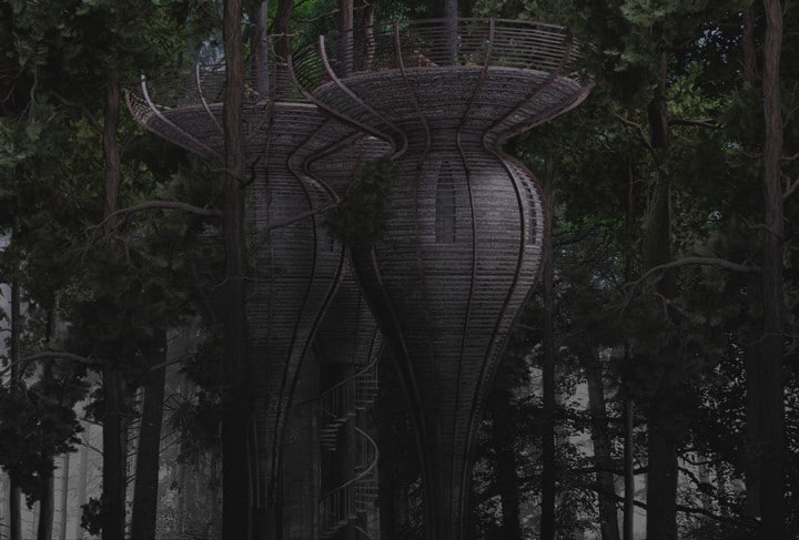 Live Like An Elf In An Extraordinary LOTR Treehouse