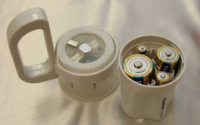Emergency Flashlight Runs On Any Size Batteries You Can Find