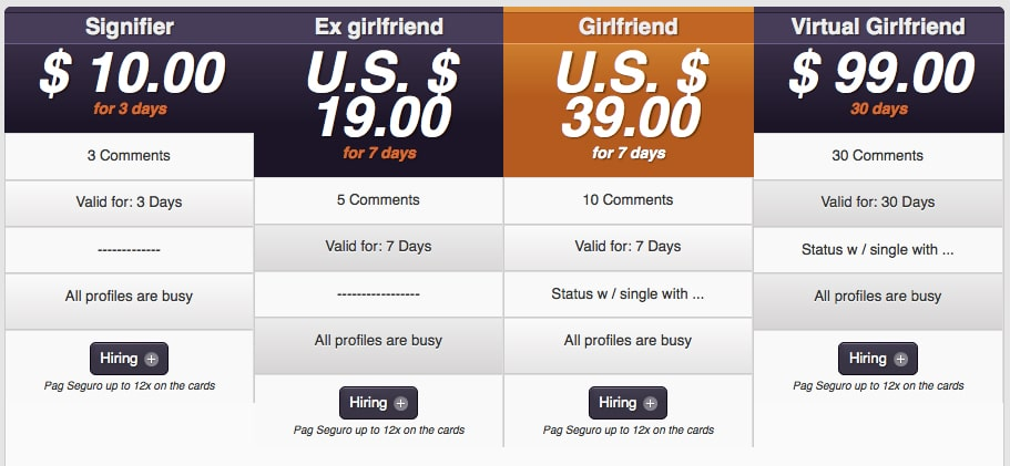 Getting A Fake Girlfriend For Facebook Has Never Been Cheaper