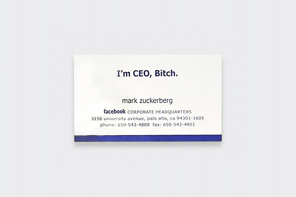 Famous Business Cards Collection